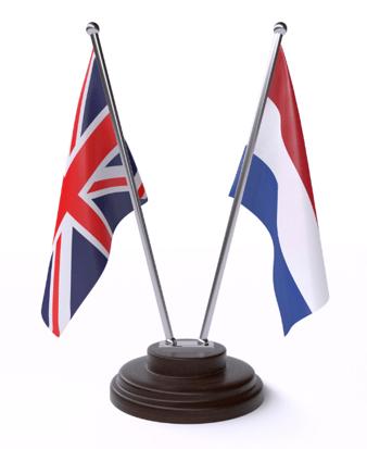 UK NL Flags
